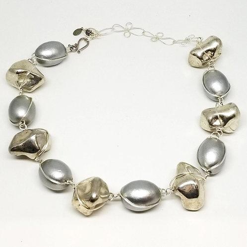 Silver Rock/Light Grey Cotton sw