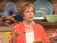 Carol Burnett wearing ABRA COUTURE