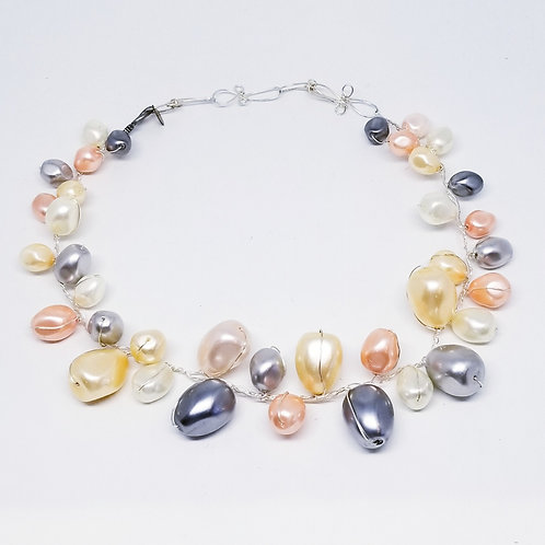 pastel mother of pearl collar sw