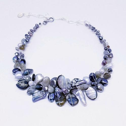 grey gem large collar sw