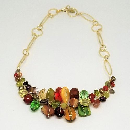 spice gem section necklace gw
