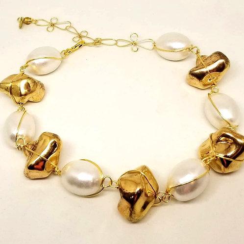 Gold Rock/White Cotton gw