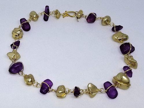 matte dark purple/matte gold nugget gw