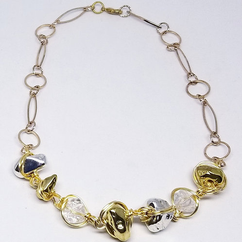 shiny gold/clear/silver nugget gw