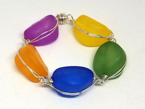 multi walnut bracelet sw