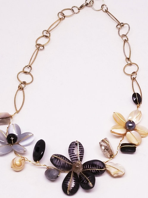 black beige grey gem flower section nk gw
