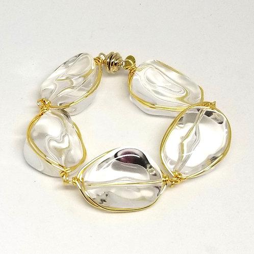 clear walnut bracelet gw