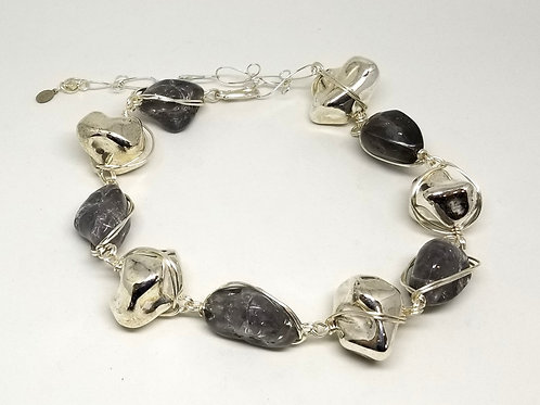 Silver Rock Grey Crackle sw