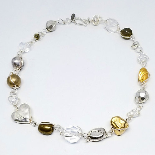 clear/gold/silver combo sw