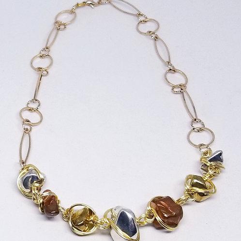 shiny gold/silver/copper nugget gw