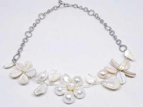 white pearl gem flower section nk sw