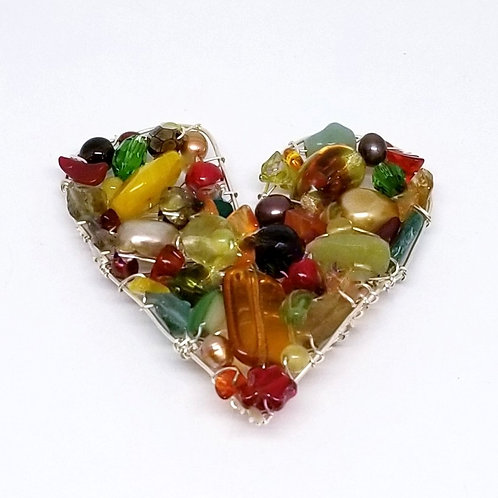 spice gem heart pin sw