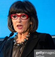 Christiane Amanpour wearing Abra Couture on 1/28/19
