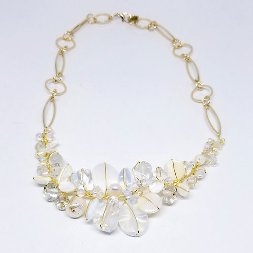 white moonstone clear gem section nk gw