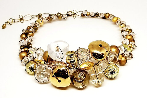 Clear Gold Jumbo collar gw