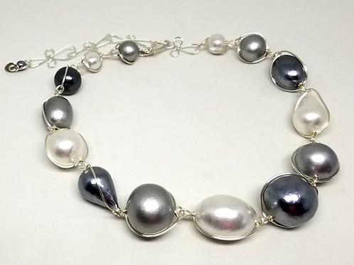 Grey White Cottonball sw