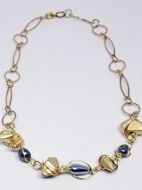 matte gold nugget grey pearl gw