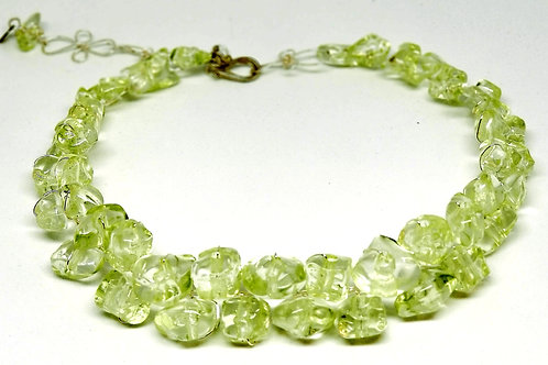 Shiny Apple Green Nugget Collar Sw