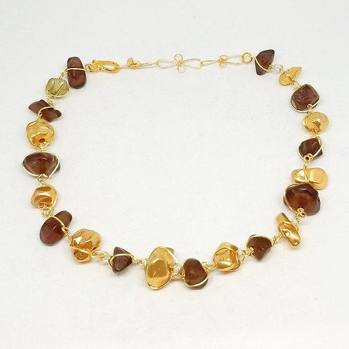 matte brown/gold nugget gw