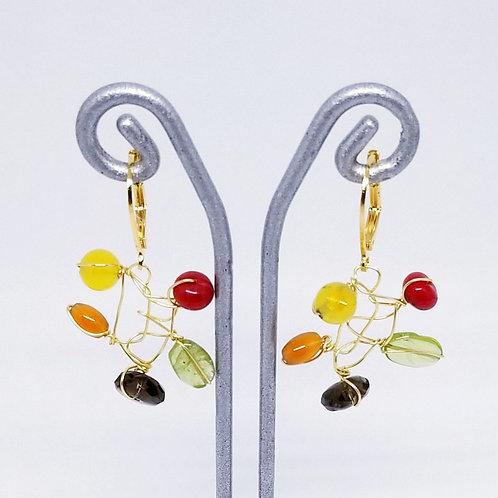 spice gem web earring gw