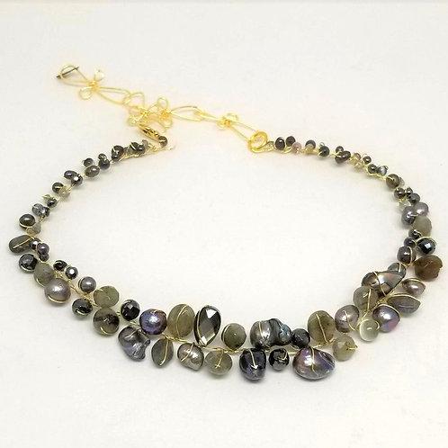 grey gem small collar gw