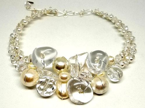 Clear Pearl Jumbo collar sw