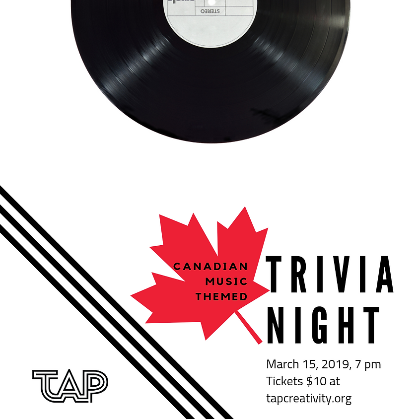 Trivia Night: Canadian Music Theme