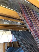 Kristy Cairns Weaving Setup