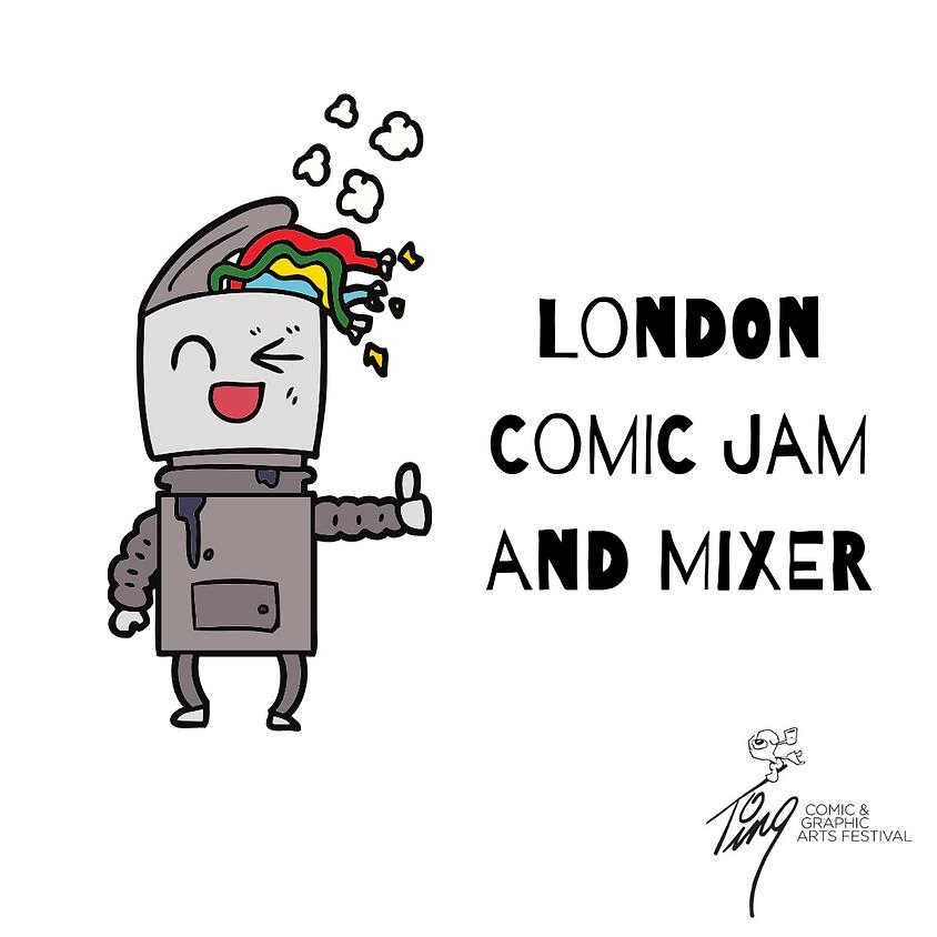 London Comic Jam and Mixer