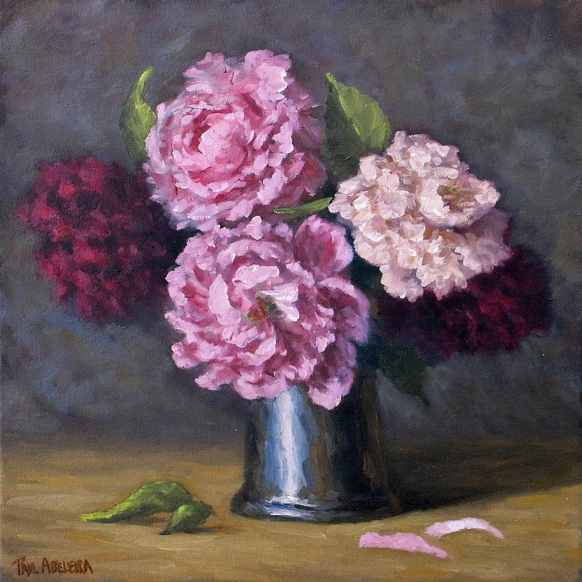 Painting Flowers Alla Prima