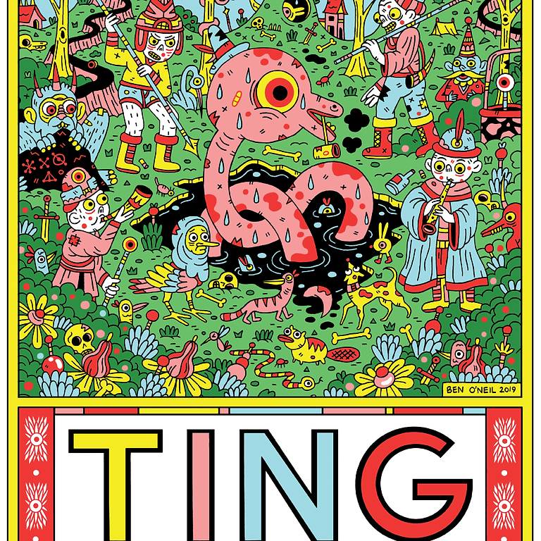 Ting Comic and Graphic Arts Festival