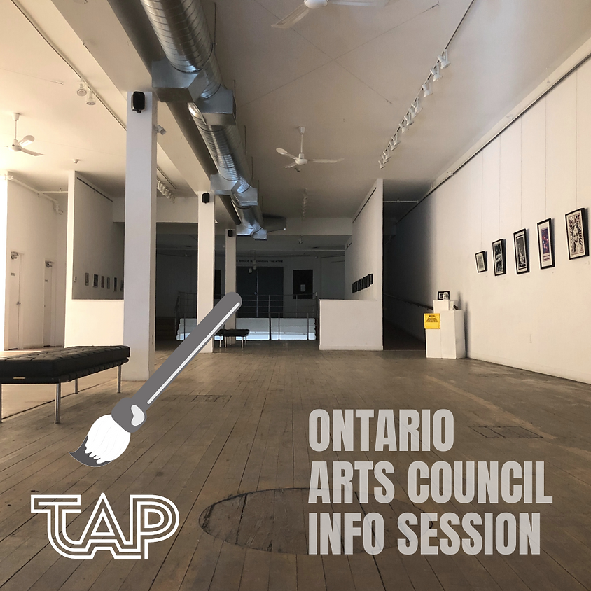 Ontario Arts Council Info Session
