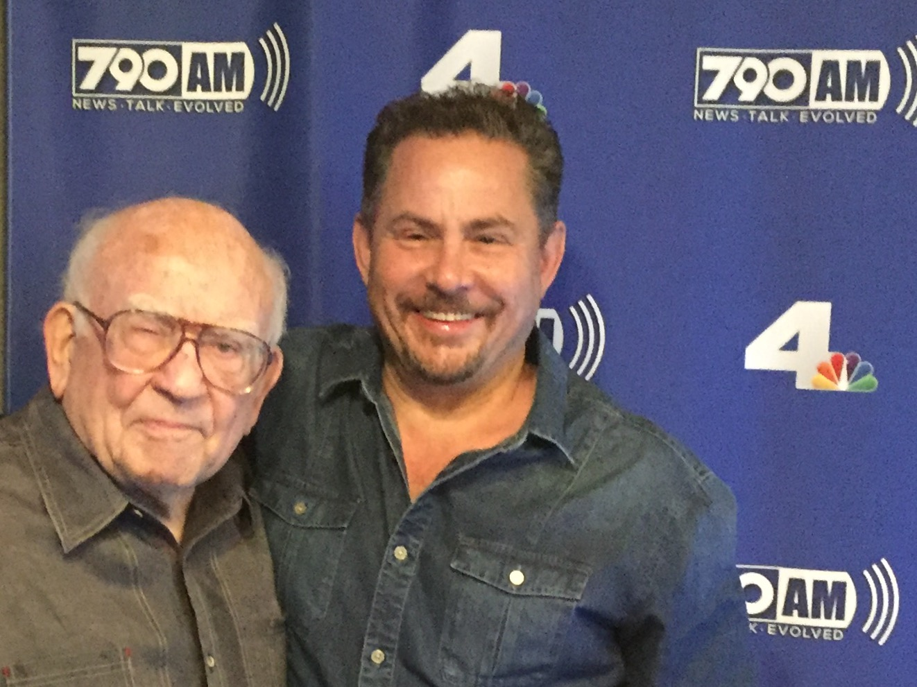 HOWARD AND ED ASNER