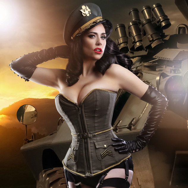 Jenny P military Pin Up.jpg