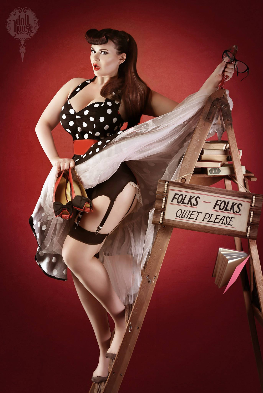 Lexy Lu Pinup Model DollHouse Photography