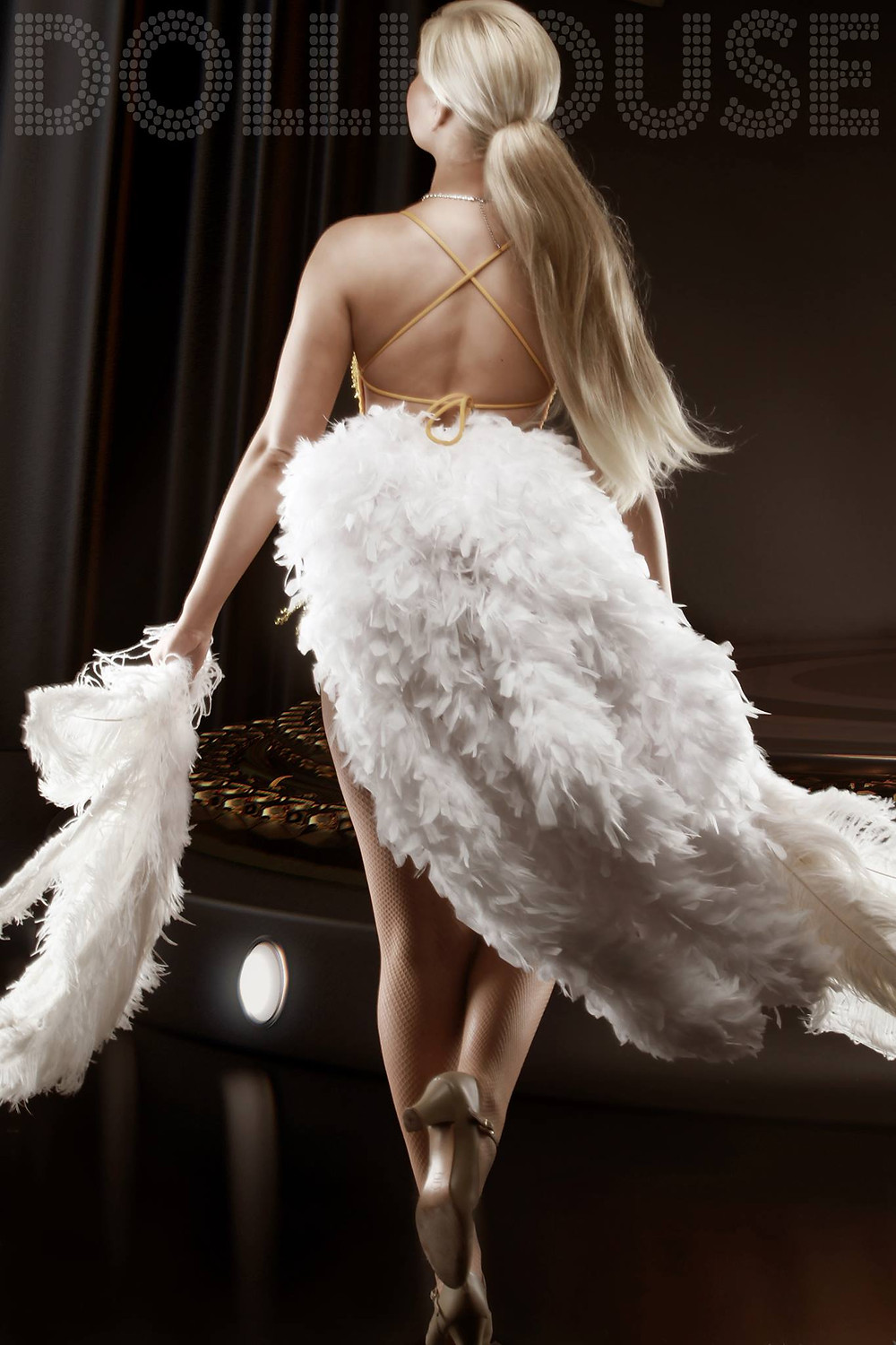 burlesque photo shoots by DollHouse Photography