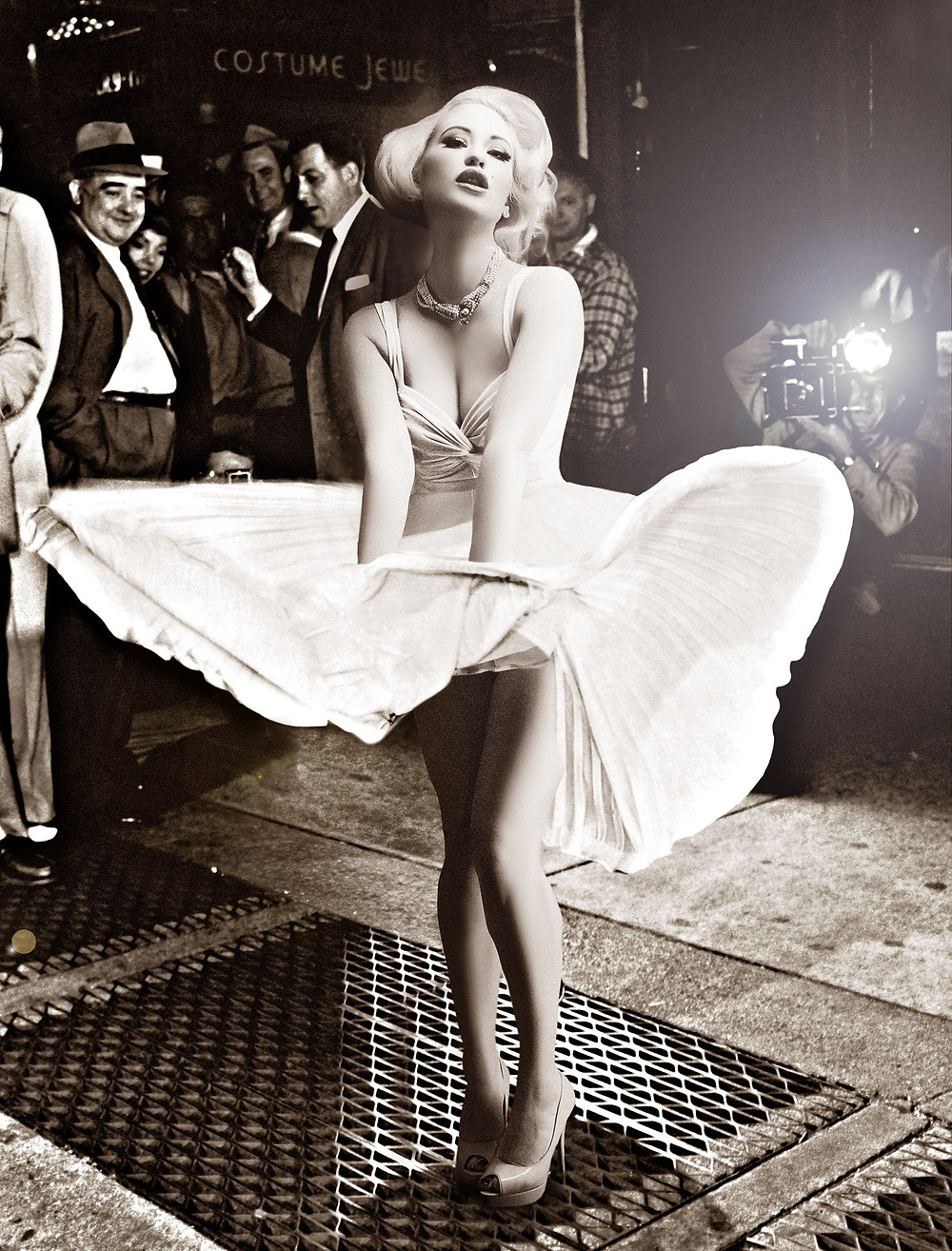 Marilyn Monroe Cosplay Pinup | By Chrissy Sparks at DOLLHOUSE