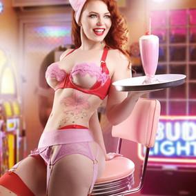 Emmerald Waitress pin up wm.jpg