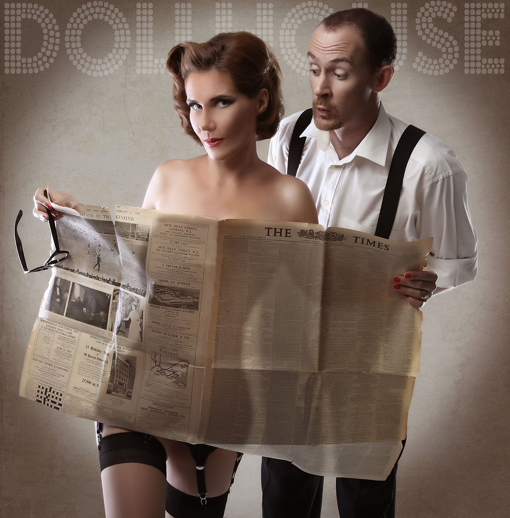 Couple Pinup Photo Shoots by DollHouse Photography