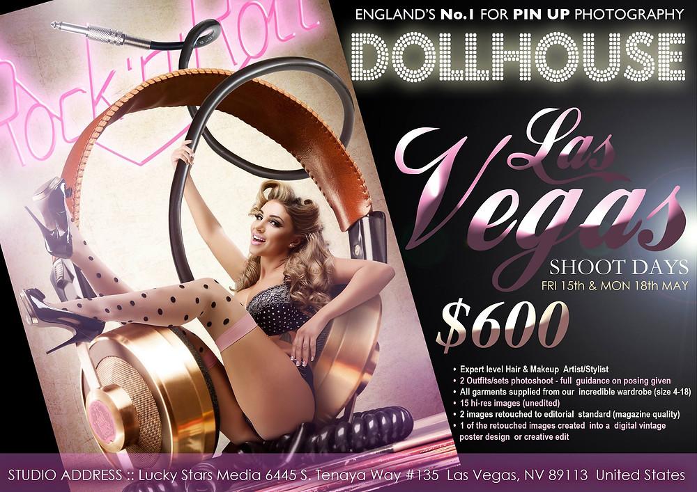 DollHouse Photography USA Tour 2015 Las Vegas Pinup Photographer