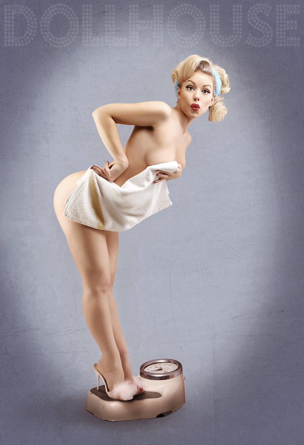 Heather Valentine Model and Pinup by DollHouse Photography