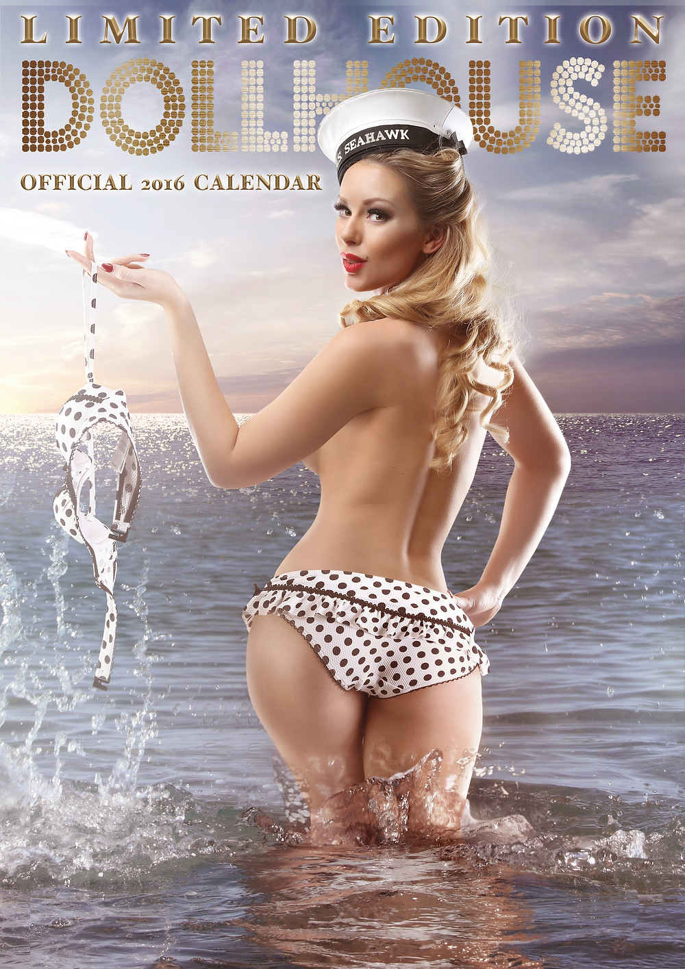 DollHouse Photography 2016 Pinup Calendar - Cover Girl Heather Valentine Pinup Model