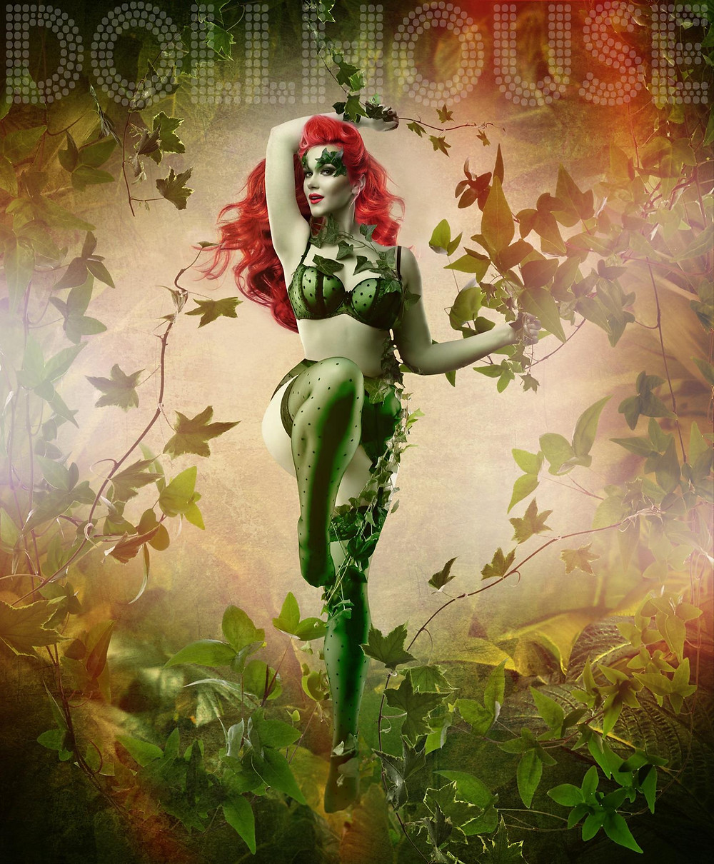 Poison Ivy Batman Cosplay | By Chrissy Sparks at DOLLHOUSE