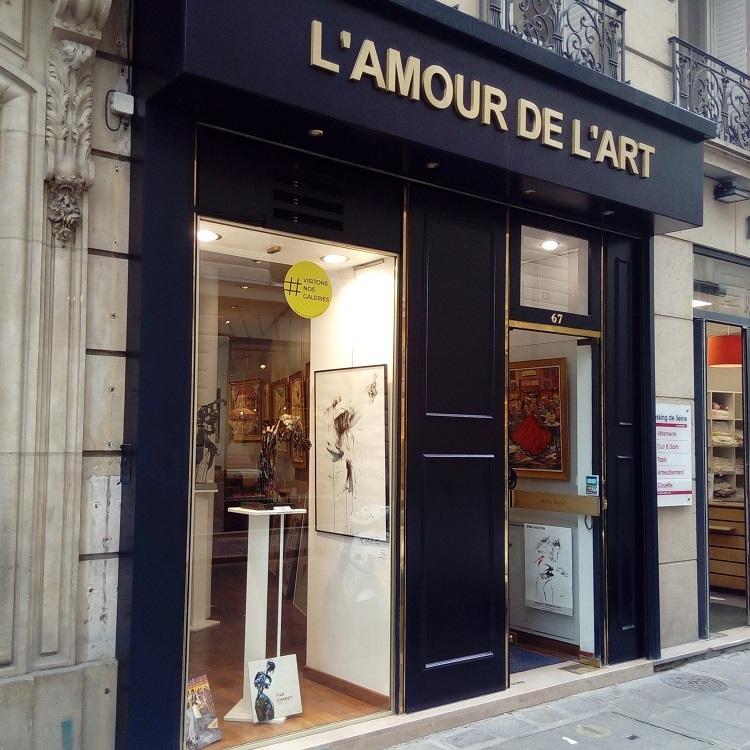 Galerie L'AMOUR DE L'ART