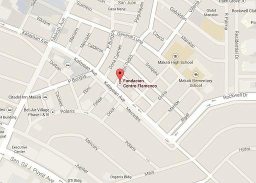 Fundacion Centro Flamenc Philippines locaton