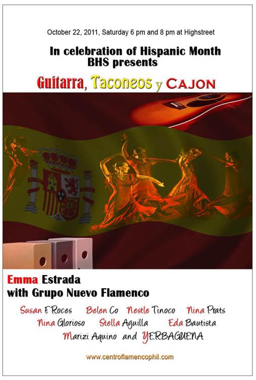 Hispanic Month Celebration-Oct.2012