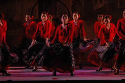 Breathing flamenco in La Luna Roja