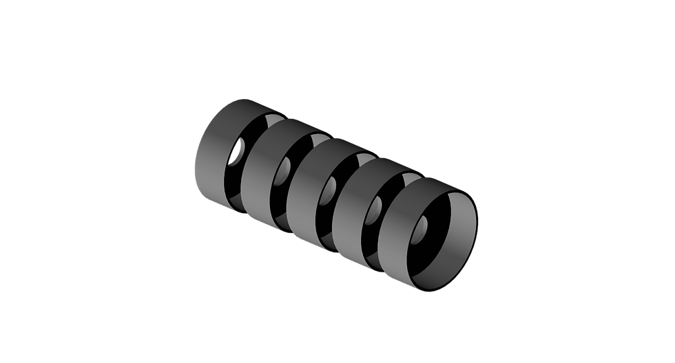 Bushing Cup, Steel, Complete Set