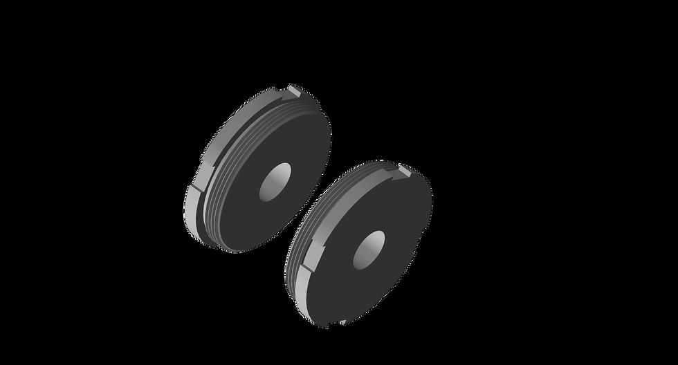 Housing Cap, Steel, Complete Set