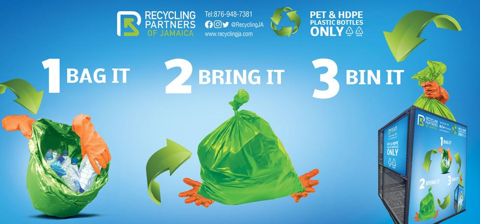 Recycling Partners of Jamaica Mesh Large Bin